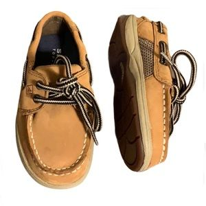 🆕 Sperry Leather Boat Shoes - Boy's Size 7.5